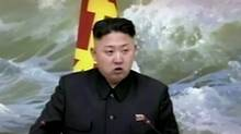 North Korean leader Kim Jong-un is seen speaking at a banquet for rocket scientists in Pyongyang, North Korea, Dec. 21, 2012 in a file image made from video. (KRT via AP Video/AP)
