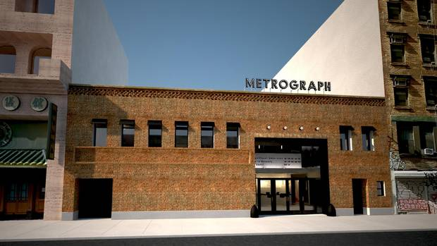 Metrograph in Manhattan was conceived as a cultural hub for film-lovers.