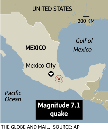 The Quake Is The Deadliest In Mexico Since A 1985 Quake On The Same Date Killed Thousands It Came Less Than Two Weeks After Another Powerful Quake Caused