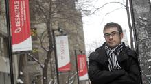Pat Tenneriello, a first-year MBA student poses on McGill campus, in Montreal, Quebec, December 20, 2010. (Christinne Muschi for The Globe and Mail/Christinne Muschi for The Globe and Mail)