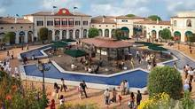 McArthurGlen's designer outlet outside Venice was inspired by nearby palazzos. The firm has 21 outlets in eight countries. (Nick Turpin/McArthurGlen Group)