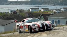 SRT Viper ACR driven by team of Ralph Gilles and Jen Horsey wasn't the only exotic in the Targa field. (Jen Horsey for The Globe and Mail)