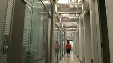 Pick a hallway at work through which you will try to practise walking meditation. (Deborah Baic/The Globe and Mail/Deborah Baic/The Globe and Mail)