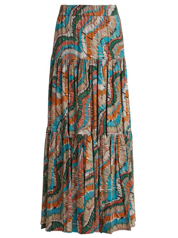 La Double J Editions Slinky gathered maxi skirt, $850 through matchesfashion.com.