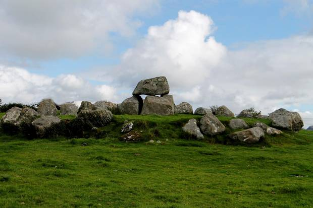 The Carrowmore megalithic cemetery, the largest and one of the oldest groupings of megalithic tombs in Ireland.