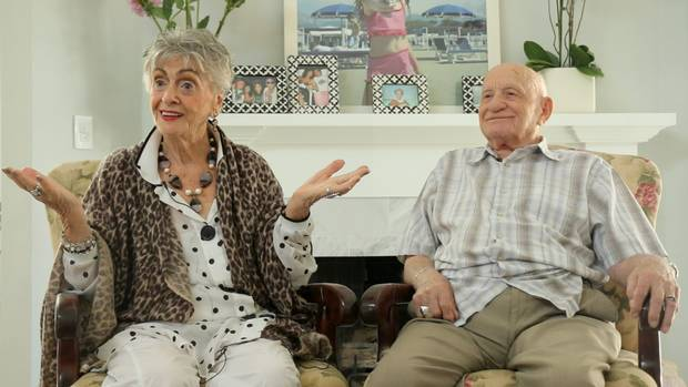 Roman Blank came out as gay at age 95, after 65 years of marriage to his wife Ruth. His story is told in the new film On My Way Out: The Secret Life of Nani and Popi.
