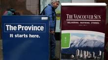 Vancouver Sun, The Province offering employee buyouts (DARRYL DYCK/THE CANADIAN PRESS)