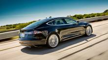 A Tesla Model S. Tesla Motors Inc. unveiled a service program on Friday meant to quell fears about buying and maintaining an electric car and boost sales of the Model S sedan in the long run. (Tesla Motors)