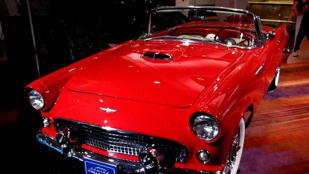 Bronze Medal winner: A beautifully restored 1956 Ford Thunderbird, owned by Teresa and Jason Villari of Woodbridge, Ont. It was purchased a couple of years ago by the then-newlyweds, fulfilling an almost life-long dream. (Bob English for The Globe and Mail)