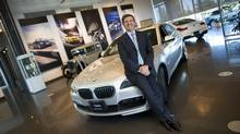 Eduardo Villaverde, CEO of BMW Group Canada, at the company's offices in Richmond Hill, Ont. Luxury auto makers are seeing a boom in sales in Canada. (Kevin Van Paassen/The Globe and Mail/Kevin Van Paassen/The Globe and Mail)