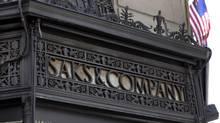 Saks had a quarter to forget, but Teachers has committed $500-million to back Hudson's Bay's planned takeover of the U.S. chain. (Richard Drew/AP)