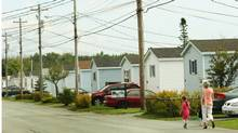 A Killam Properties trailer park in Eastern Passage, N.S. (PAUL DARROW/Paul Darrow for the Globe and Mail)