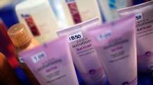 Avon products are seen at St. John's University in New York in this April 18, 2009 file photo. (ERIC THAYER/REUTERS)