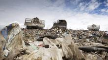 At public consultations, waste companies said they feared they were being pushed out by Vancouver's garbage-flow plan. (JOHN LEHMANN/The Globe and Mail)