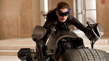 Anne Hathaway as Catwoman in The Dark Knight Rises. (Ron Phillips / Warner Bros.)