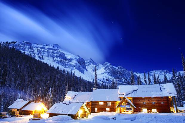 Chatter Creek's lodge