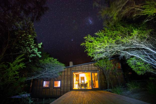 The Freycinet Experience Walk offers luxurious eco-lodge.