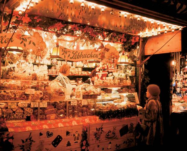 Christkindlmarkt is Munich's oldest and biggest Christmas market.