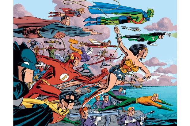 Darwyn Cooke's masterwork DC: The New Frontier brought his fascination with the United States' Camelot age to the fore.