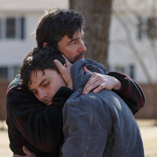 Kyle Chandler and Casey Affleck in Manchester By The Sea.