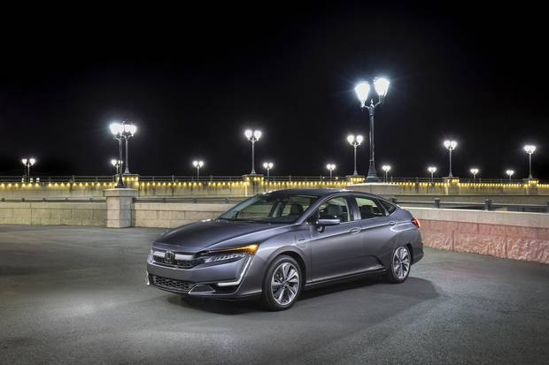 The 2018 Honda Clarity Comes In Three Versions But Is Only Available As A Plug