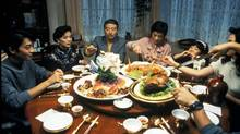 A scene from the movie Eat Drink Man Woman, which is part the TIFF Food on Film series.