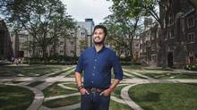 Munib Sajjad, president of the University of Toronto Students' Union, on the St. George Campus: 'University is getting very unaffordable.' (JENNIFER ROBERTS FOR THE GLOBE AND MAIL)