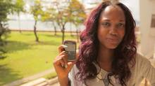 Chidera Anukam is an 18-year-old student in Lagos, Nigeria with dyed purple highlights and 1,002 friends on BlackBerry Messenger. The continent's consumption boom is spurring investments in the form of shopping malls and fast-food chains, spa treatments and cars. (Iain Marlow/The Globe and Mail)