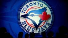 The logo of the Toronto Blue Jays is seen in this file photo. (Nathan Denette/THE CANADIAN PRESS)