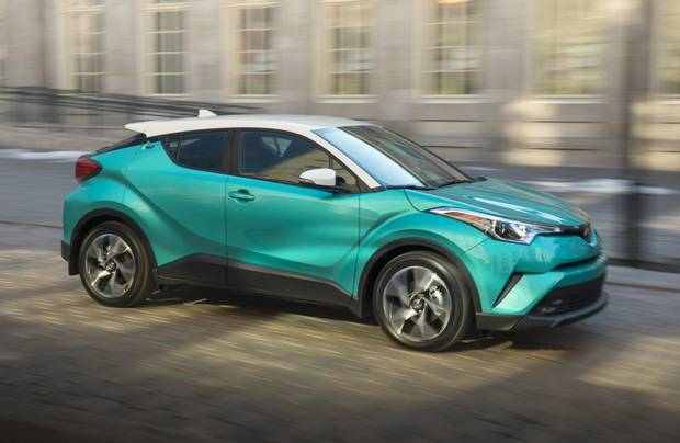 review: 2018 toyota c-hr is a steady ride missing a key feature