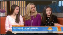 Kate Gosselin and daughters Mady and Cara Gosselin (YouTube)