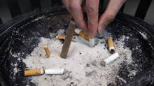 Ontario has become the latest jurisdiction to take on Big Tobacco with a lawsuit to recover smoking-related health costs from a beleaguered industry that denounced the action as hypocritical. (Pawel Dwulit/Pawel Dwulit/The Canadian Press)