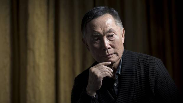 Actor George Takei is shown at the Fairmont Hotel in Vancouver on Nov. 18, 2014.
