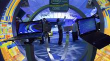 Intel Corp. posted second-quarter revenue of $13.5-billion and net earnings of $2.8-billion, or 54 cents per share, on July 17, 2012, as the personal computer industry wrestles with troubled economies and consumers shift toward tablets. (Steve Marcus/Reuters)