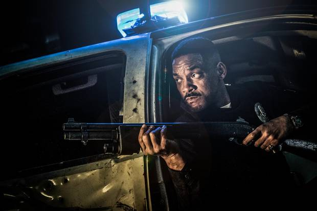 David Ayer's new film Bright stars Will Smith, easily the shiniest star to headline a Netflix film so far.