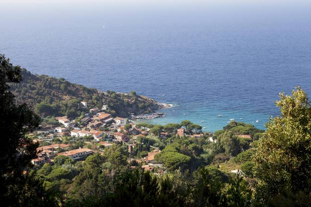 With 147 kilometres of coastline, Elba is only 27 km across from east to west and 18 km north to south.