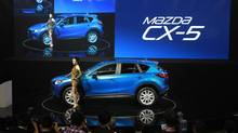 Mazda's SUV CX-5. (Vincent Thian/Associated Press)