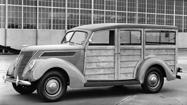 1937 Ford Station Wagon (Ford)