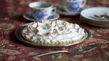Lemon meringue tart (Moe Doiron/The Globe and Mail)