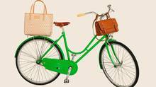 Kate Spade?s collabo with Adeline Adeline includes two new bike bags ? and a bike on which to hang them.