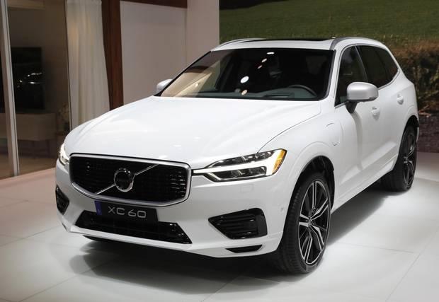 The 2018 Volvo XC60.