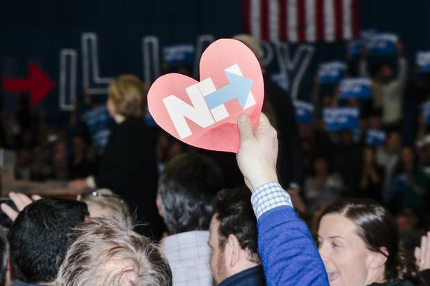 Ms. Clinton lost the New Hampshire primary to rival Bernie Sanders, but later carried seven of the 11 states that voted in the Super Tuesday primary contest, putting her on a glide path to win the Democratic nomination.