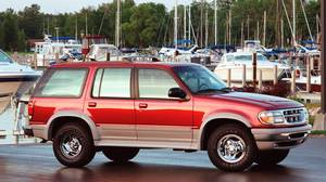 1995 Ford Explorer: This early SUV helped launch North America's obsession with oversized sport-utility vehicles.