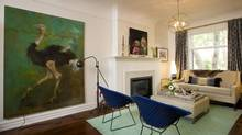 The living room of Madeleine Lamont (Kevin Van Paassen for The Globe and Mail)