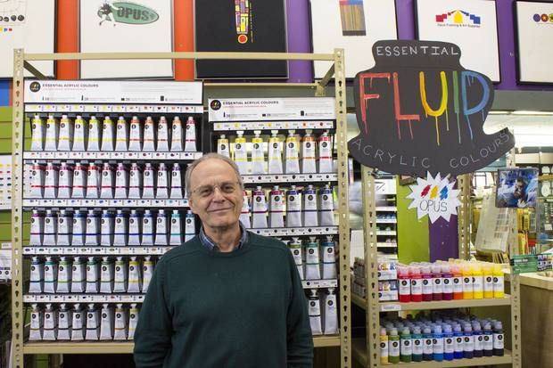David van Berckel returned to Vancouver from travelling the world in the 1970s and bought a small framing business.