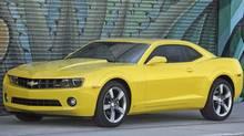 2010 Chevrolet Camaro. (General Motors)
