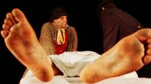 Bloodless: the Trial of Burke and Hare marks the launch production of Theatre 20's inaugural season. (Ashton Doudelet)