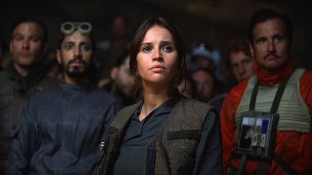 Jyn Erso (Felicity Jones) in Rogue One: A Star Wars Story