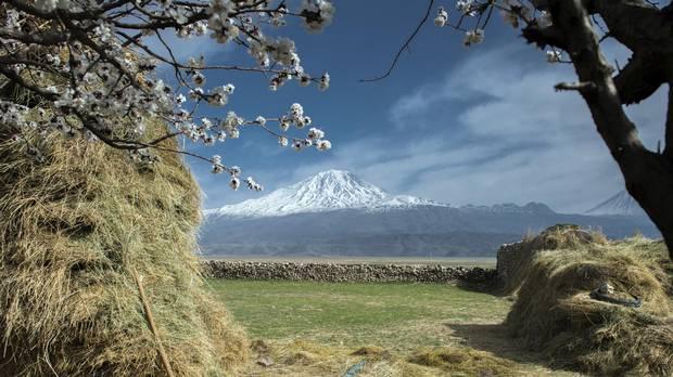 Rising more than 5,000 metres, Mount Ararat is Turkey's highest peak.