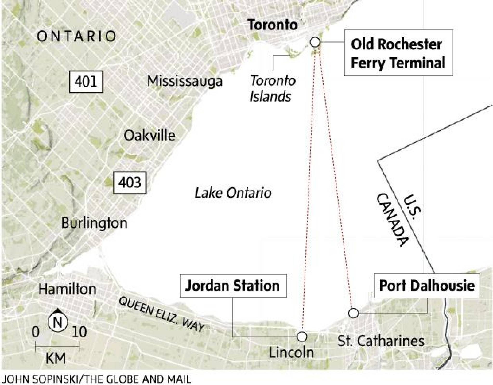 How A Yearold Is Hoping To Link The GTA Through Waterbased - How the globe and maps help us